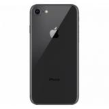 Achterkant back cover compleet met small parts voor Apple iPhone 8 space grey origineel_