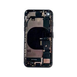 Achterkant back cover compleet met small parts voor Apple iPhone 8 space grey origineel